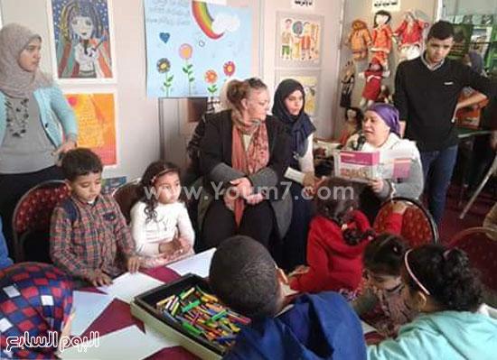 معرض الكتاب، المركز القومى للطفل، الثقافة، ميرفت مرسى (1)