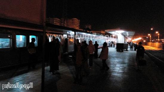 تعطل قطار المنيا (4)