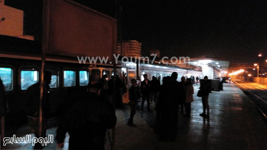 تعطل قطار المنيا (5)