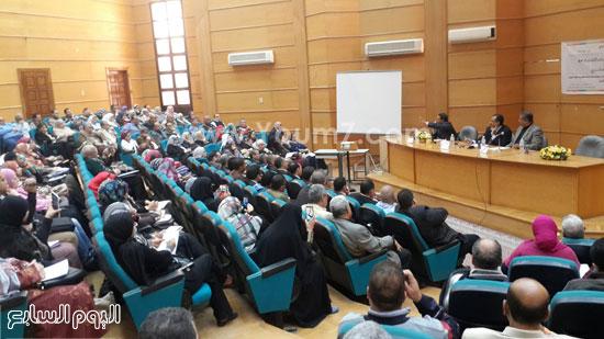 ندوة الامن الفكرى بجامعة طنطا (1)