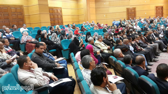 ندوة الامن الفكرى بجامعة طنطا (2)