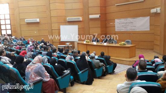 ندوة الامن الفكرى بجامعة طنطا (4)