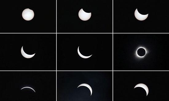 ناسا، كسوف الشمس، قمر صناعى، صور كسوف الشمس، كوكب الارض  (3)