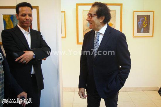 معرض - لوحات - نجيب ساويرس-فاروق حسنى (4)