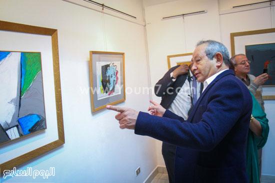 معرض - لوحات - نجيب ساويرس-فاروق حسنى (5)