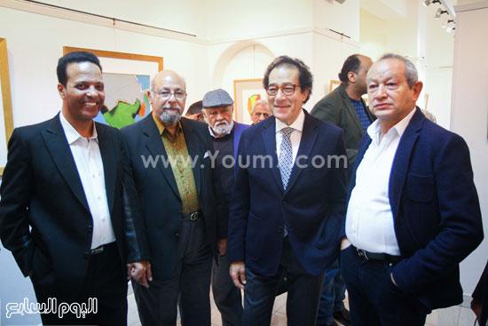 معرض - لوحات - نجيب ساويرس-فاروق حسنى (6)