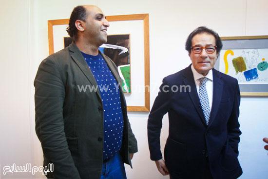 معرض - لوحات - نجيب ساويرس-فاروق حسنى (7)