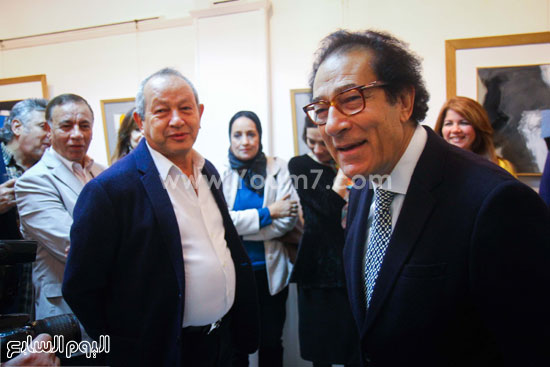معرض - لوحات - نجيب ساويرس-فاروق حسنى (8)