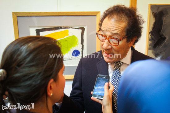 معرض - لوحات - نجيب ساويرس-فاروق حسنى (10)