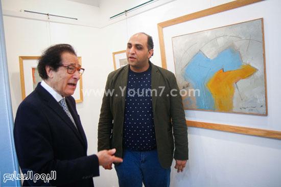 معرض - لوحات - نجيب ساويرس-فاروق حسنى (12)