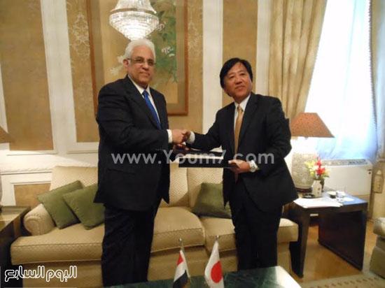 سفارة اليابان يكشف نقدم منح مالية بأكثر من 400 ألف دولار لجمعيات مصرية (1)
