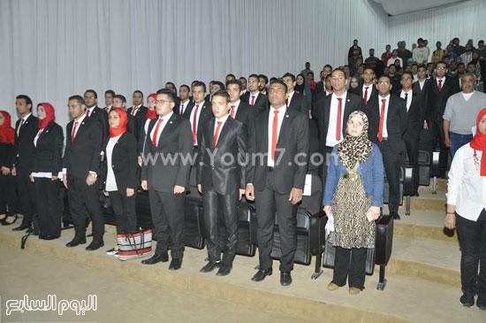 جامعة-قناة-السويس-تنظم-حفل-تنصب-اتحاد-الطلاب-(5)
