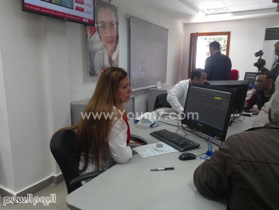 وزير الاتصالات يفتتح سنترال سموحة بالإسكندرية (3)