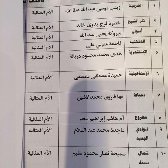 الامهات المثاليات ، عيد الام ، اخبار مصر ا (4)
