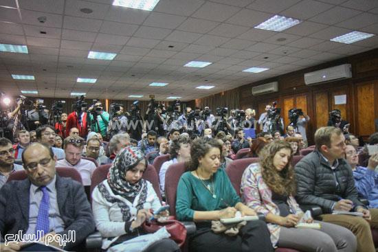 توت عنخ امون مؤتمر وزير الاثار ممدوح الدماطى (41)