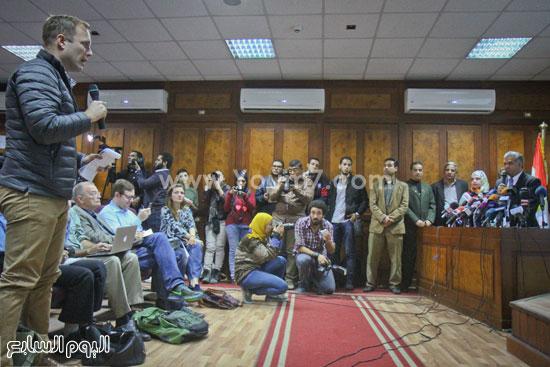 توت عنخ امون مؤتمر وزير الاثار ممدوح الدماطى (44)