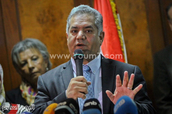 توت عنخ امون مؤتمر وزير الاثار ممدوح الدماطى (46)