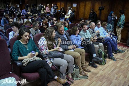 توت عنخ امون مؤتمر وزير الاثار ممدوح الدماطى (26)