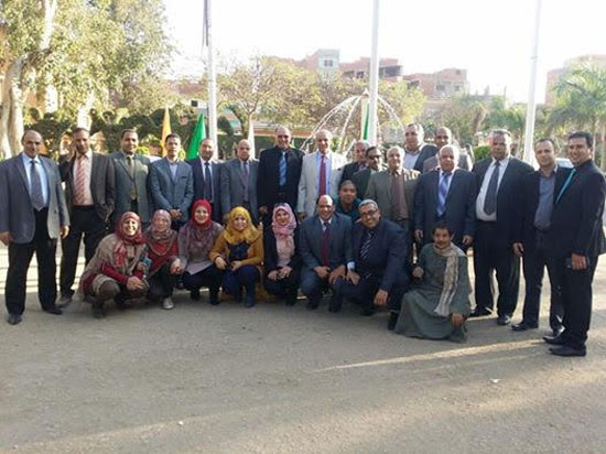فريق الجودة بجامعة مشتهر (1)