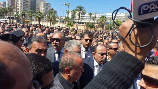 جنازة نجل محمد عمر (2)