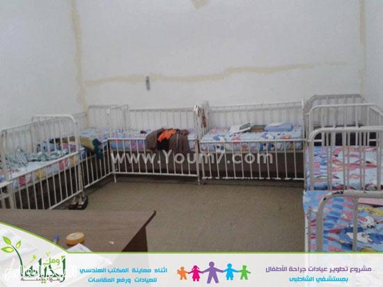 تطوير قسم جراحات الأطفال بمستشفى الشاطبى بالإسكندرية (3)