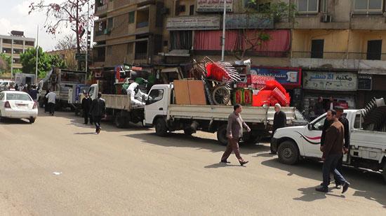 مدير أمن القاهرة يقود حملة مكبرة لإزالة إشغالات (1)