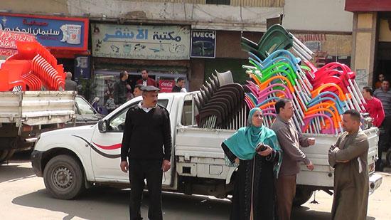 مدير أمن القاهرة يقود حملة مكبرة لإزالة إشغالات (2)