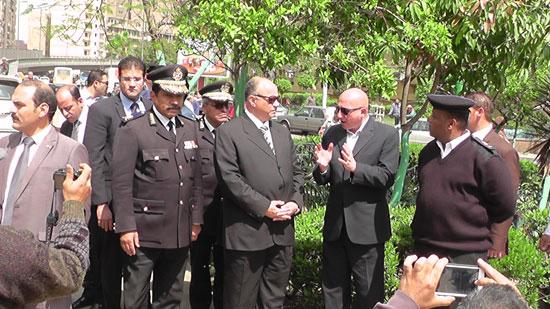 مدير أمن القاهرة يقود حملة مكبرة لإزالة إشغالات (4)