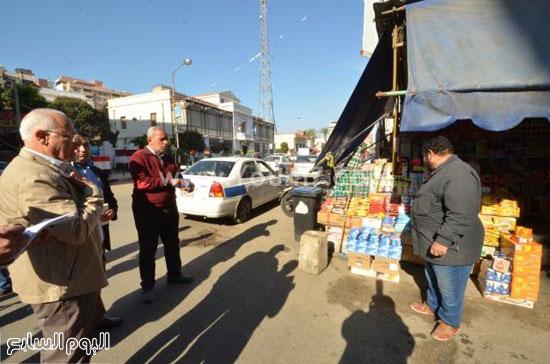 إزالة الإشغالات ببور سعيد (2)
