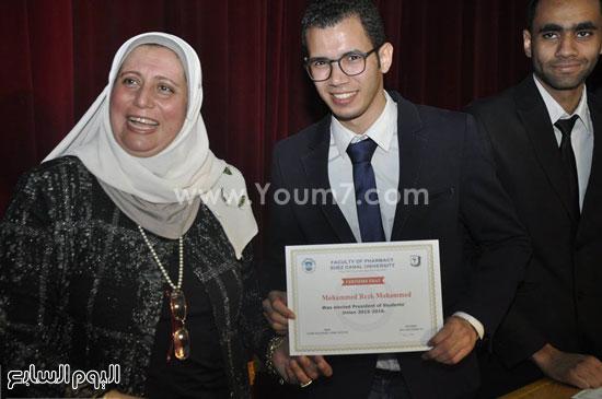 حفل تنصيب اتحاد طلاب صيدلة جامعة قناة السويس (3)