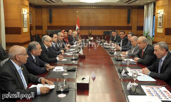 شريف اسماعيل الحكومة اخبار مصر مجلس الوزراء  (1)