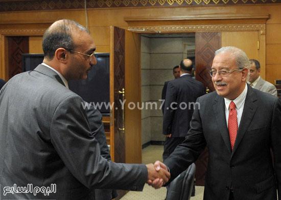 شريف اسماعيل الحكومة اخبار مصر مجلس الوزراء  (3)