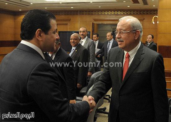 شريف اسماعيل الحكومة اخبار مصر مجلس الوزراء  (5)