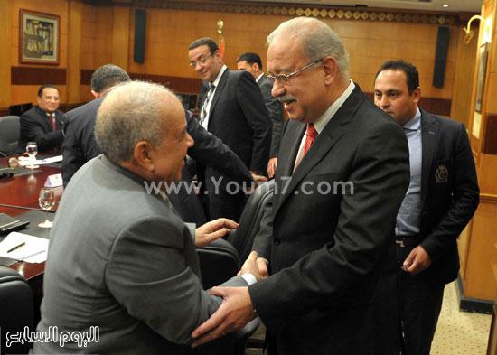 شريف اسماعيل الحكومة اخبار مصر مجلس الوزراء  (14)