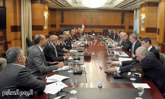 شريف اسماعيل الحكومة اخبار مصر مجلس الوزراء  (15)