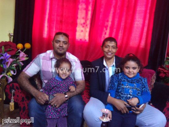 أسرة السيدة ماجدة محمد عبد السلام الأم المثالية بالوادى الجديد (5)
