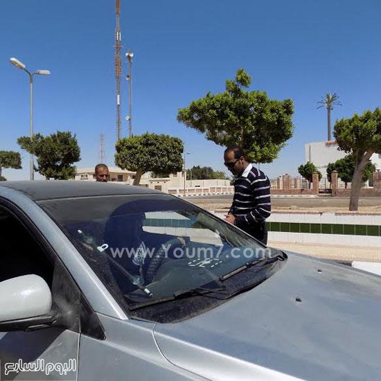 ضبط 3 سائقين يقودون تحت تأثير المخدر بكمين عيون موسى (3)