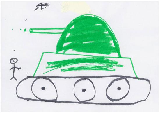 -أطفال-سوريا-يعبرون-عن-مأساة-الحرب-فى-رسوم-فنية-(2)