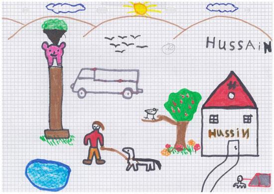 -أطفال-سوريا-يعبرون-عن-مأساة-الحرب-فى-رسوم-فنية-(3)