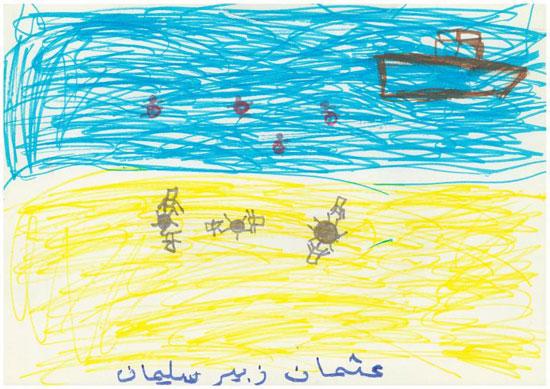 -أطفال-سوريا-يعبرون-عن-مأساة-الحرب-فى-رسوم-فنية-(6)