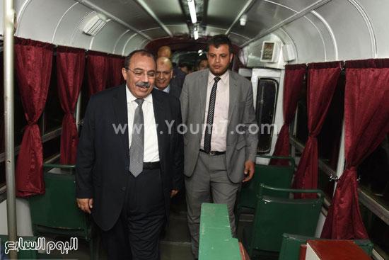المهندس محمد عبد الظاهر محافظ الإسكندرية  (1)