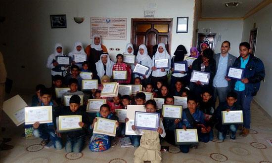 شمال سيناء ، الشيخ زويد ، جمعية الجورة ، اخبار شمال سيناء ، تكريم الطلبة المتميزين (5)
