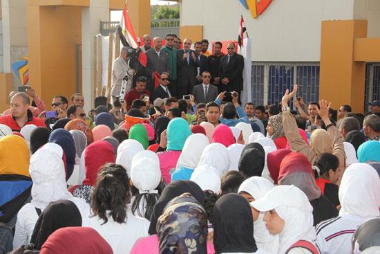 احتفالات العيد القومى لـبنى سويف بحضور- نجوم الكرة المصرية (2)