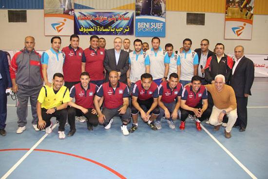 احتفالات العيد القومى لـبنى سويف بحضور- نجوم الكرة المصرية (3)