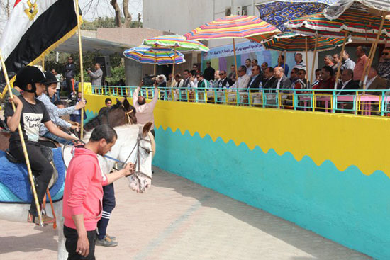 احتفالات العيد القومى لـبنى سويف بحضور- نجوم الكرة المصرية (5)