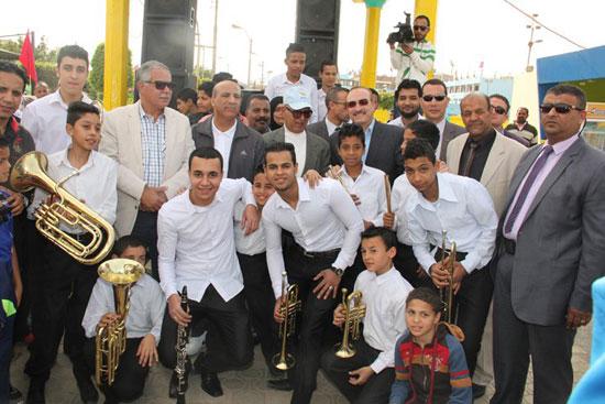 احتفالات العيد القومى لـبنى سويف بحضور- نجوم الكرة المصرية (7)