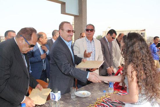 احتفالات العيد القومى لـبنى سويف بحضور- نجوم الكرة المصرية (9)