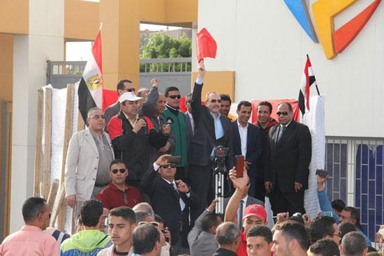 احتفالات العيد القومى لـبنى سويف بحضور- نجوم الكرة المصرية (10)