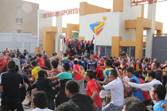 احتفالات العيد القومى لـبنى سويف بحضور- نجوم الكرة المصرية (11)