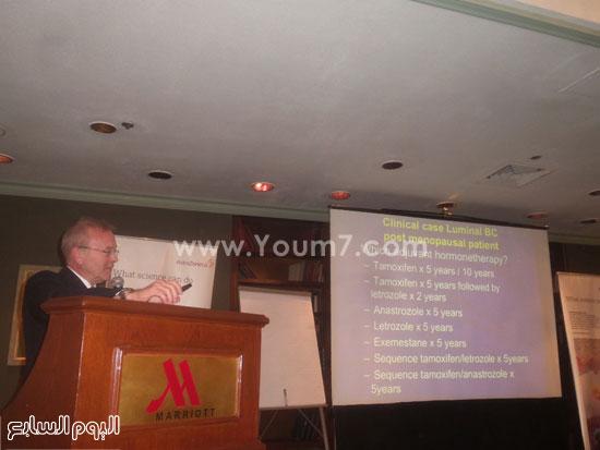 مؤتمر قسم علاج الأورام فى كلية طب قصر العينى  (3)